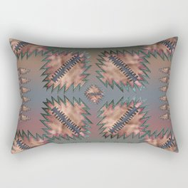 Raven Pale Sky Rectangular Pillow