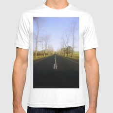 In honour of our fallen Diggers Mens Fitted Tee MEDIUM White