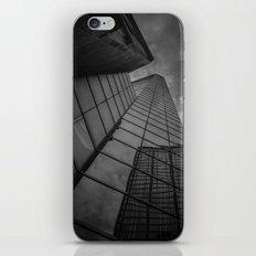looking up; feeling grey... iPhone & iPod Skin