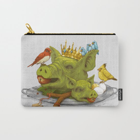 Furious Fowl Carry-All Pouch