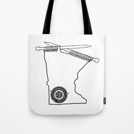 MKG Minnesota - Black Tote Bag