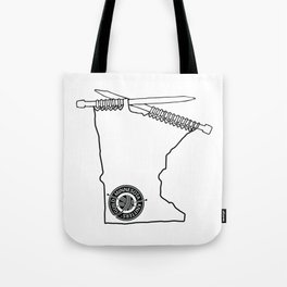 MKG Minnesota - Black Tote Bag