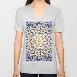 Logs In A Circle Unisex V-Neck