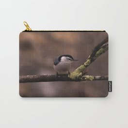 Neat Nuthatch Carry-All Pouch