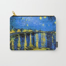 Van Gogh Starry Night Over the Rhone Carry-All Pouch