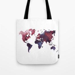 world map art 3 Tote Bag