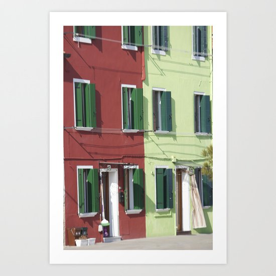 Two halves Art Print