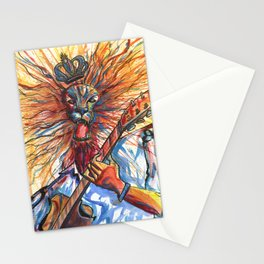 King of rock Stationery Cards