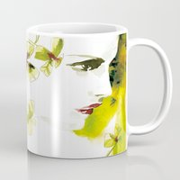 clover Mugs featuring Clover by Ekaterina Koroleva