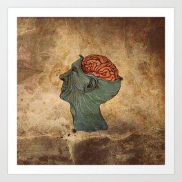Mind Wide Open Art Print