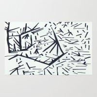 pi Area & Throw Rugs featuring pi by Ana Vânia Fonseca