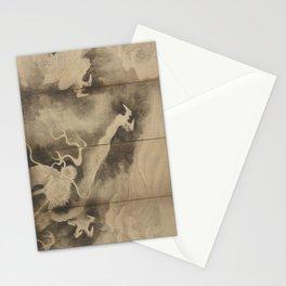 Dragons and Clouds by Tawaraya Sotatsu (俵屋 宗達) Stationery Cards