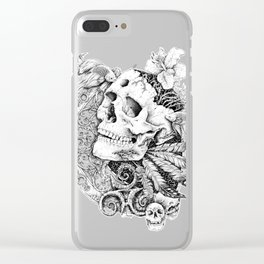 DEATH Clear iPhone Case