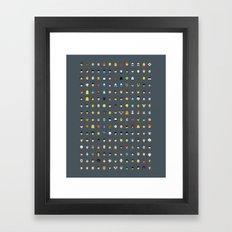 Famous Capsules - Nostalgia Framed Art Print