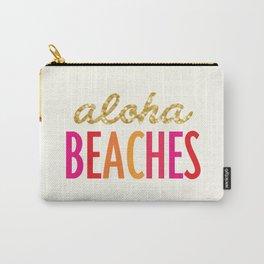 ALOHA BEACHES Carry-All Pouch