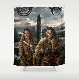 Clexa - New World Shower Curtain