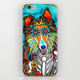 Colby the Collie iPhone Skin