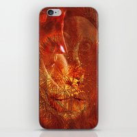 beauty and the beast iPhone & iPod Skins featuring beauty and the Beast by  Agostino Lo Coco