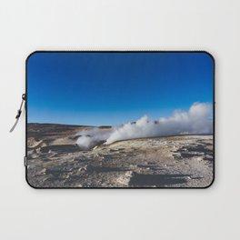 Geysers in the Atacama Desert, Bolivia Laptop Sleeve