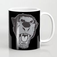 panther Mugs featuring Panther by Taranta Babu
