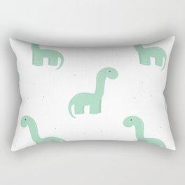 dino & dots Rectangular Pillow