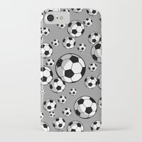 soccer iPhone & iPod Cases featuring Soccer by joanfriends