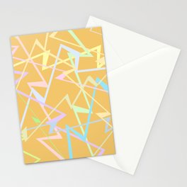 Electric waves Stationery Cards