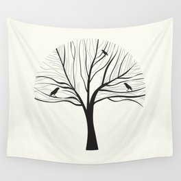 bird tree Wall Tapestry