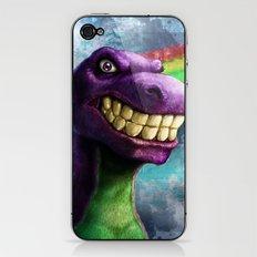 Barney the dinosaur iPhone & iPod Skin