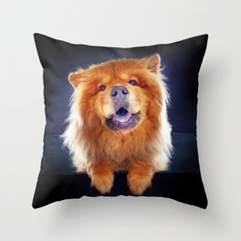 Super Pets Series 1 - Super Chow Throw Pillow