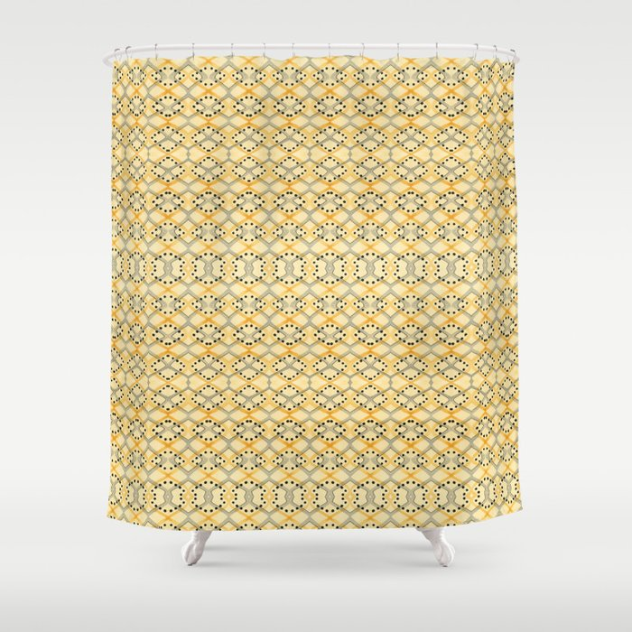 Currency IV Shower Curtain