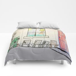 Percy's Dilemma Comforters