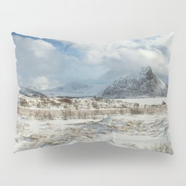 The Land of snow Pillow Sham