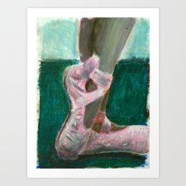 Maya's Slippers Art Print