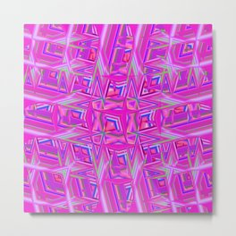 Abstract BB ZZZZZ Metal Print
