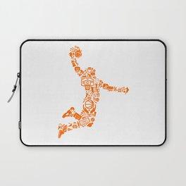 Basketball Art Dunk Laptop Sleeve