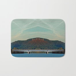 Bridge, scenery and some clouds | architectural photography Bath Mat