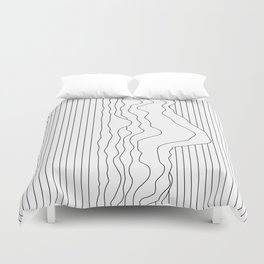 Unknown Object Duvet Cover
