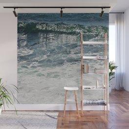 Aqua Teal Deal Wall Mural