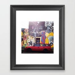 43rd x Tel Framed Art Print
