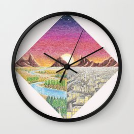 The Western Front Wall Clock