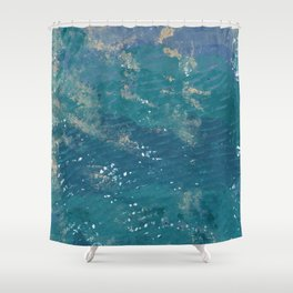 Going to the sea Shower Curtain