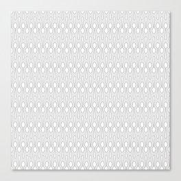 Kitchen Spoon Silhouette Canvas Print
