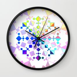 Kaleidoscopic Pride Wall Clock