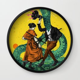SNAKE CHARMER Wall Clock