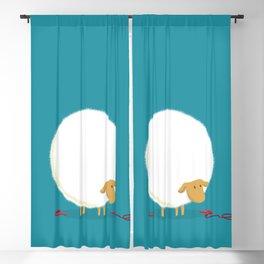 Fluffy Sheep Blackout Curtain