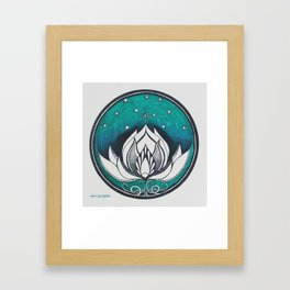 Saussurea Obvallata Framed Art Print