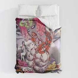 Ms. Ayahuasca de Pompadour Comforters