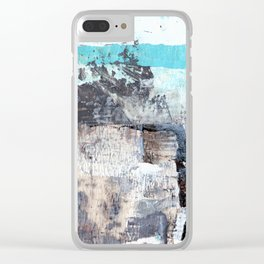 Heaven and Earth. Clear iPhone Case