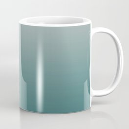 BM Trending Color Beau Green 2054-20 & Color of the Year Metropolitan Gray AF-690 Gradient Ombre Coffee Mug